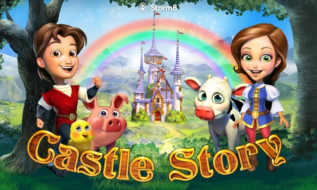 Castle Story game screen shot 1