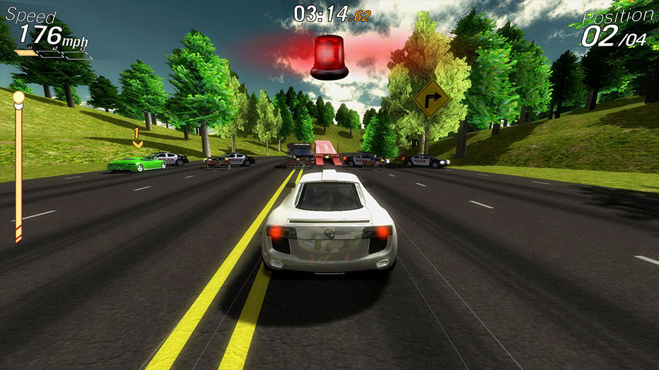 Crazy Cars Hit the Road Screen shot 3