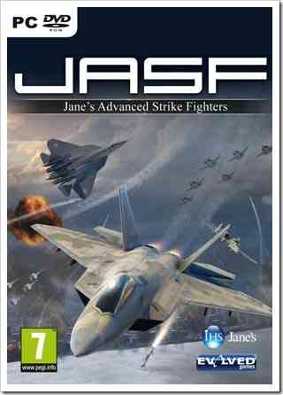 JASF Jane's Advanced Strike Fighters (PC) Full Version Cover
