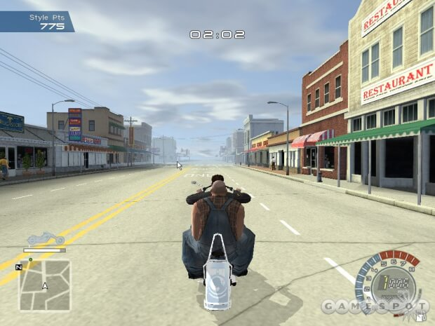 American Chopper pc game screen shot 1