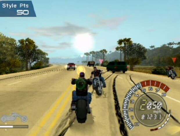 American Chopper pc game screen shot 2