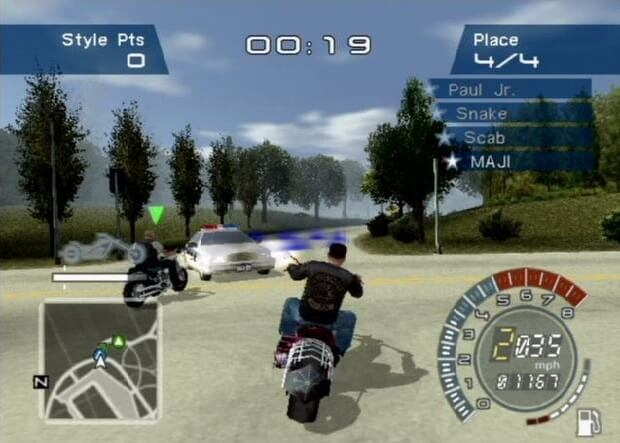 American Chopper pc game screen shot 3