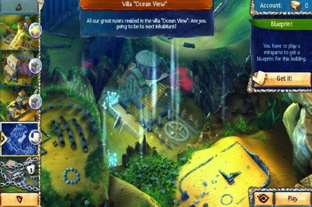 Jewel Legends Atlantis game screen shots 3