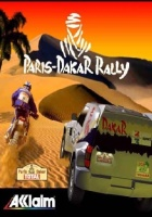Paris-Dakar Rally pc game cover