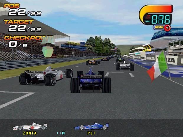 F1 2000 Video Gameplay