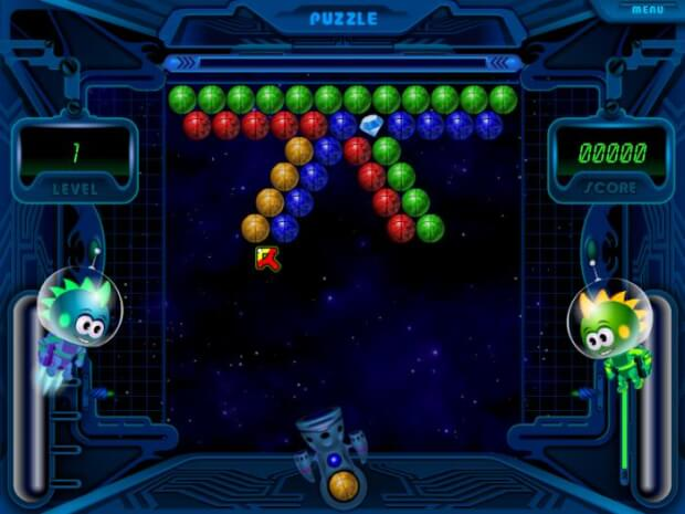 Space Bubbles Game Screenshot