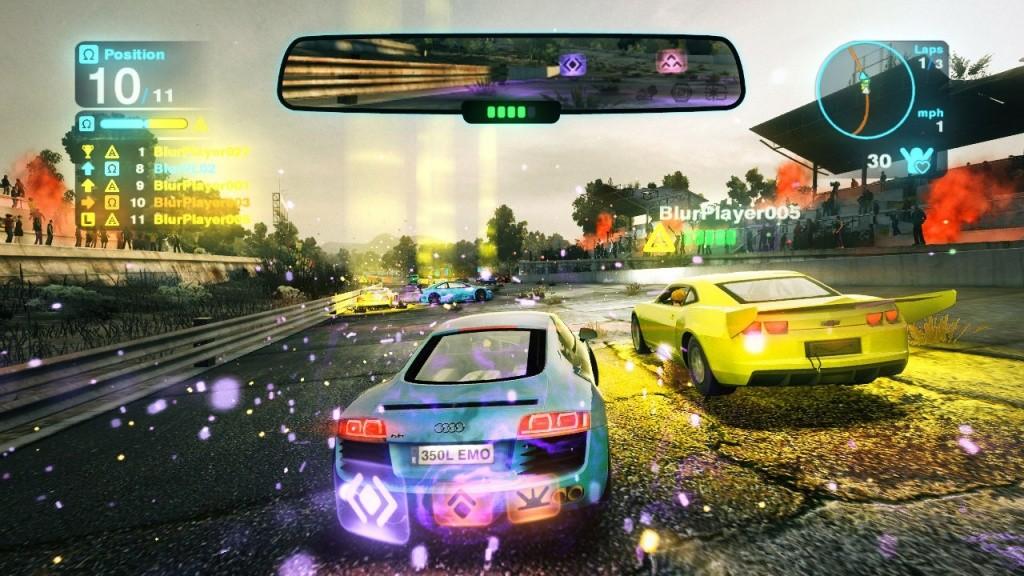 Blur Video Gameplay