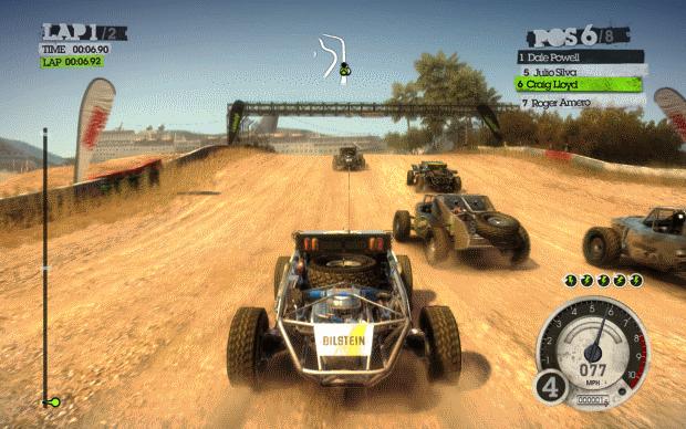 Colin McRae Dirt 2 Screenshot
