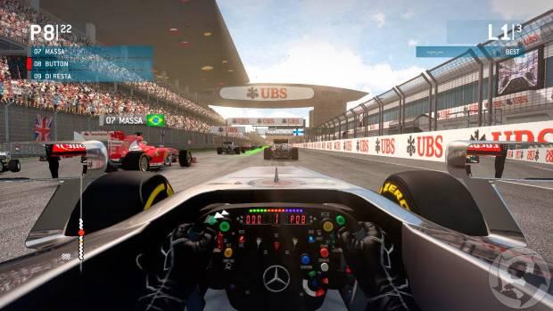 F1 2013 Video Gameplay