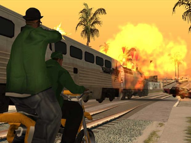 Grand Theft Auto San Andreas Video GamePlay