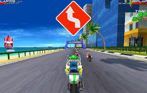 Moto Racer Screenshot