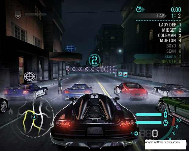 Need for Speed Carbon Video Gameplay