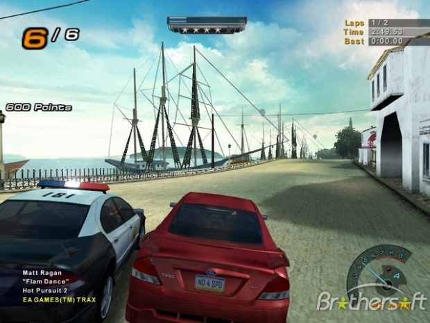 Need for Speed Hot Pursuit 2 Screenshot