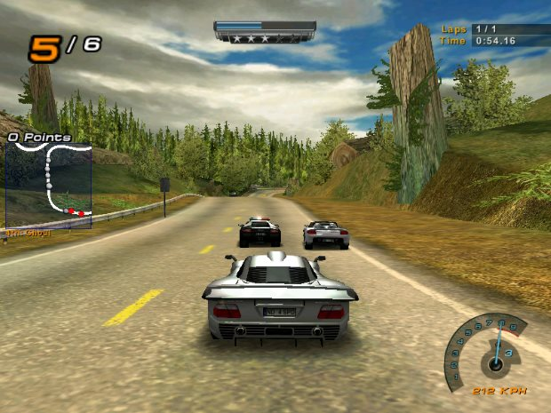 Need for Speed Hot Pursuit 2 Video Gameplay