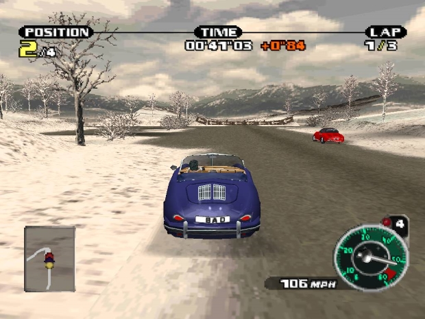 Need for Speed Porsche Unleashed Video Gameplay