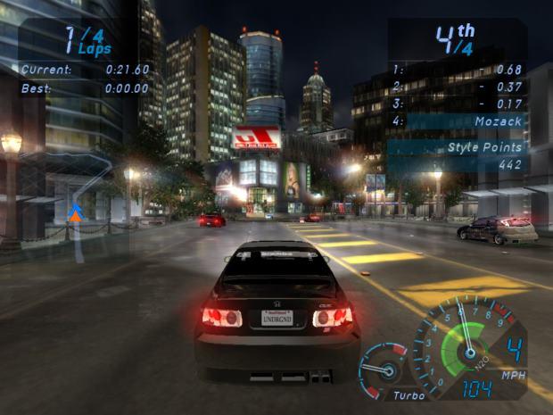 Need for Speed Underground Screenshot