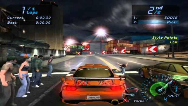 Need for Speed Underground Video Gamleplay