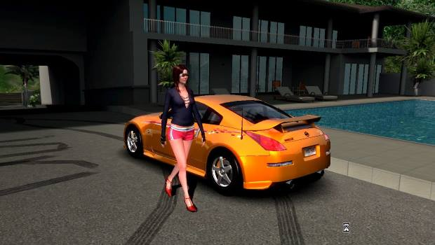 Test Drive Unlimited Video Gameplay