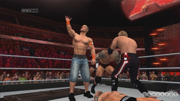 WWE RAW Video Gameplay
