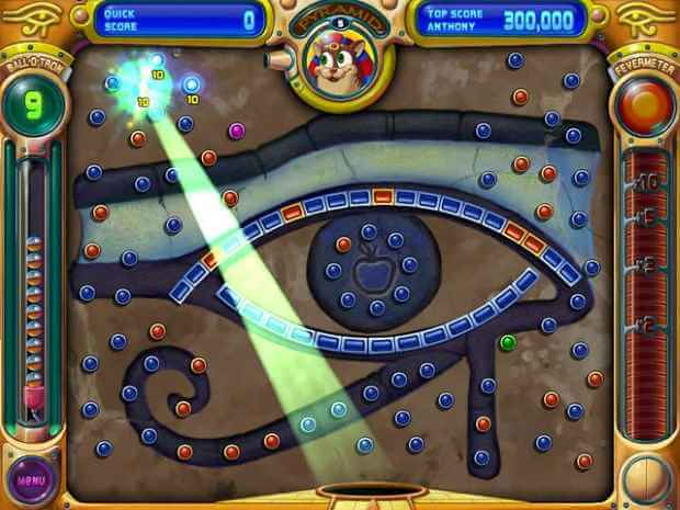 Peggle Video Gameplay