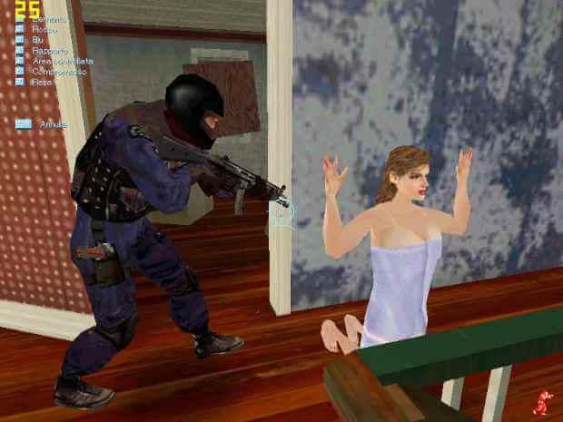SWAT 3 Close Quarters Battle Video Gameplay