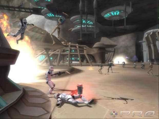 Star Wars Battlefront II Video Gameplay