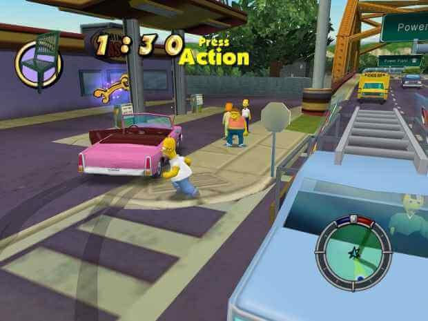 The Simpsons Hit and Run Screenshot