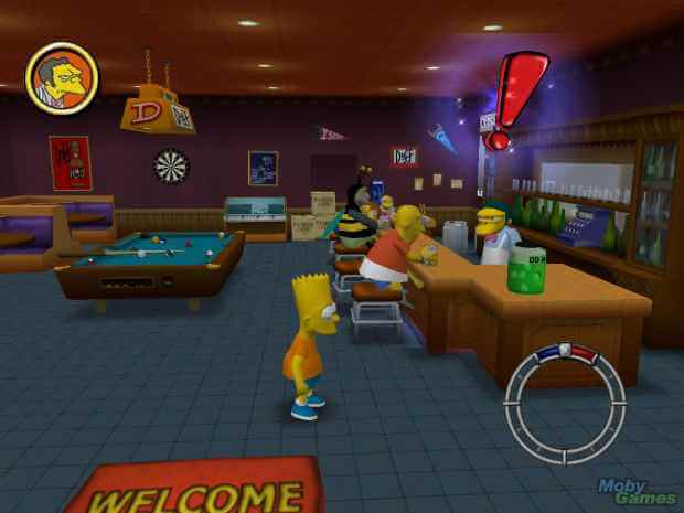The Simpsons Hit and Run Video Gameplay