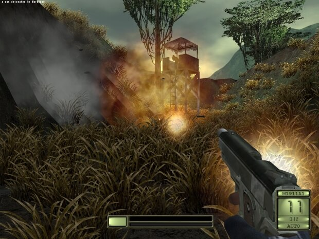 Soldier of Fortune II Double Helix Video Gameplay