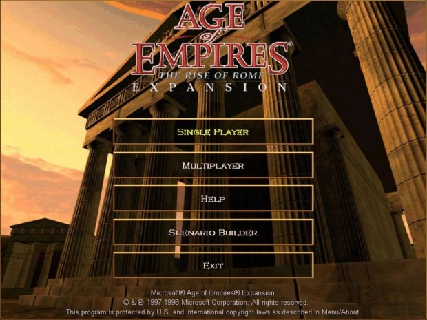 Age of Empires The Rise of Rome Full Version