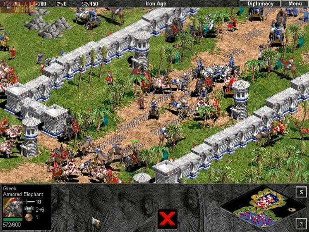 Age of Empires The Rise of Rome Screenshot