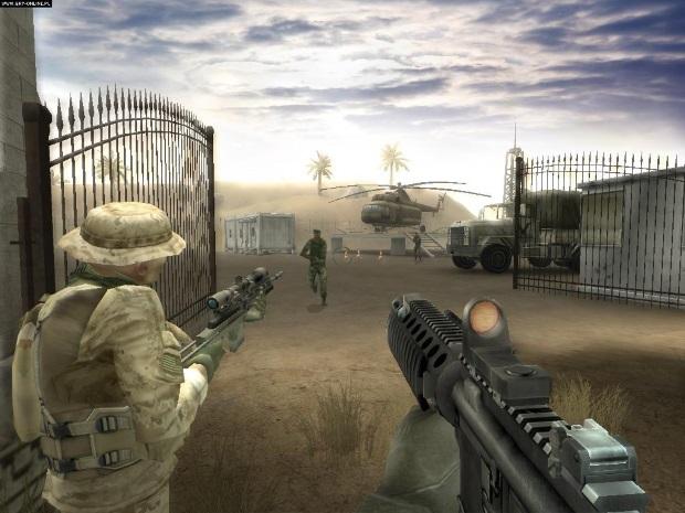 Marine Sharpshooter 3 Video Game