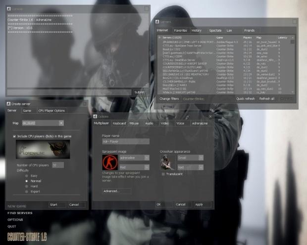 Counter Strike 1.6 Adrenaline v3.6 Screenshot