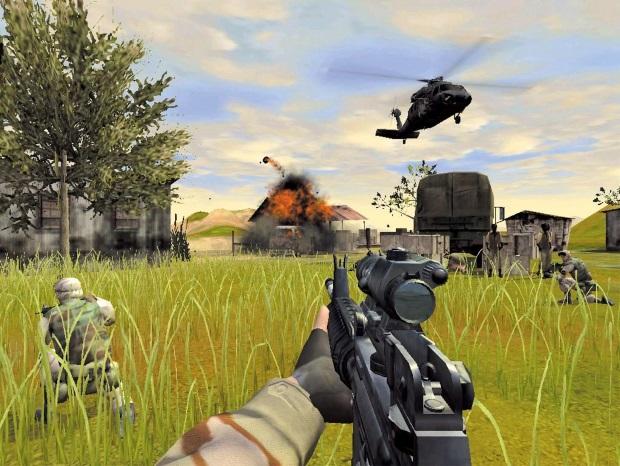 Delta Force Task Force Dagger Video Game