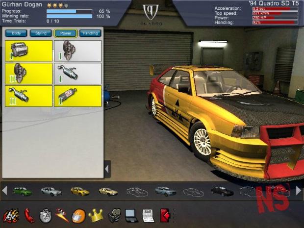 Overspeed High Performance Street Racing Video Game