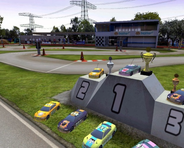 Big Scale Racing Video Game