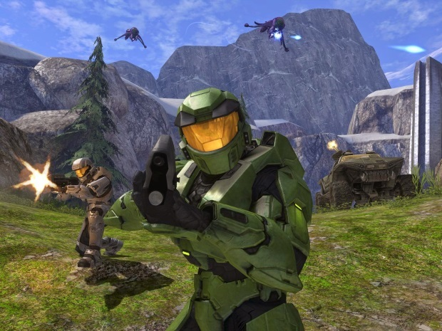 Halo Combat Evolved Video Game
