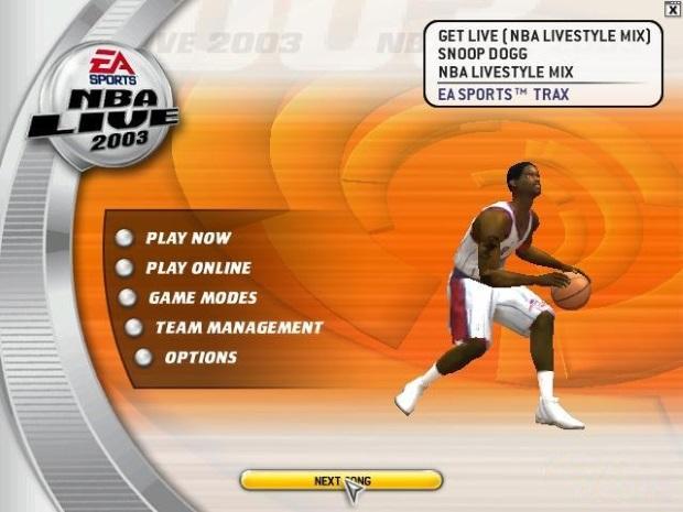 NBA Live 2003 Full Version