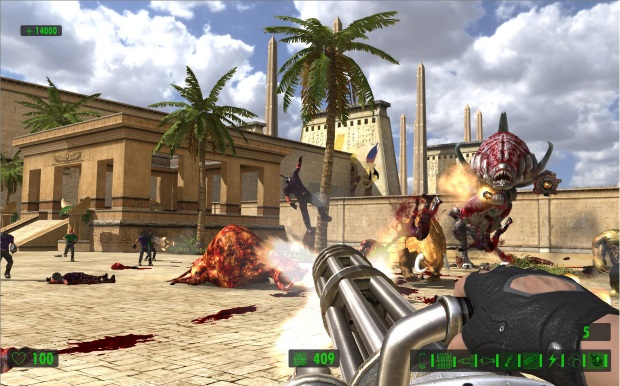 Serious Sam HD The Second Encounter Video Game