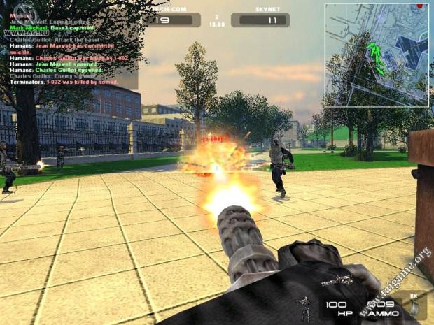 Terminator 3 War Of The Machines Screenshot