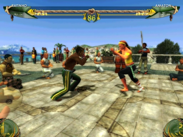 Martial Arts Capoeira Video Game