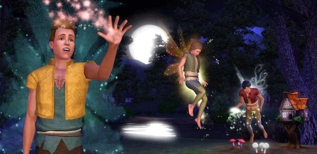 The Sims 3 Supernatural Screenshots
