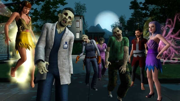 The Sims 3 Supernatural Video Game