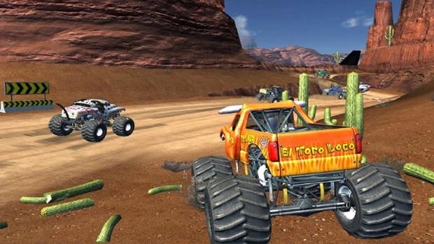 Monster Jam Battlegrounds Screenshots