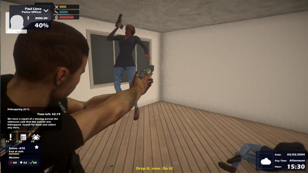 Enforcer Police Crime Action Screenshot