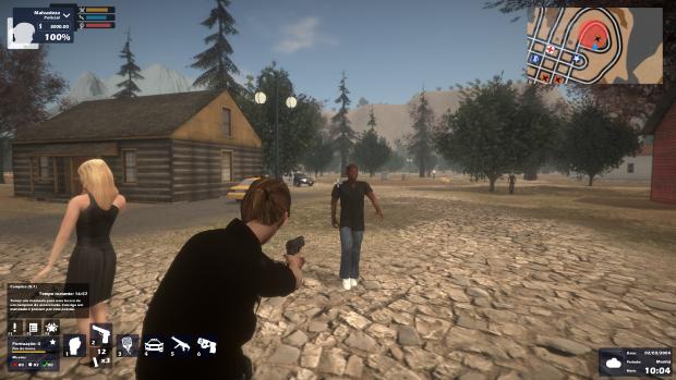 Enforcer Police Crime Action Video Game