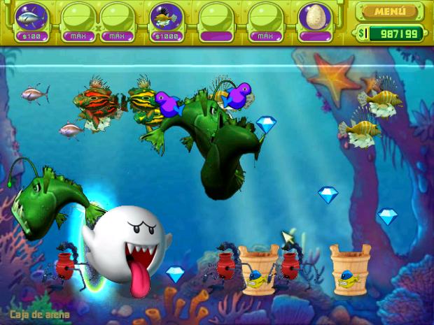 Insaniquarium Deluxe Screenshot