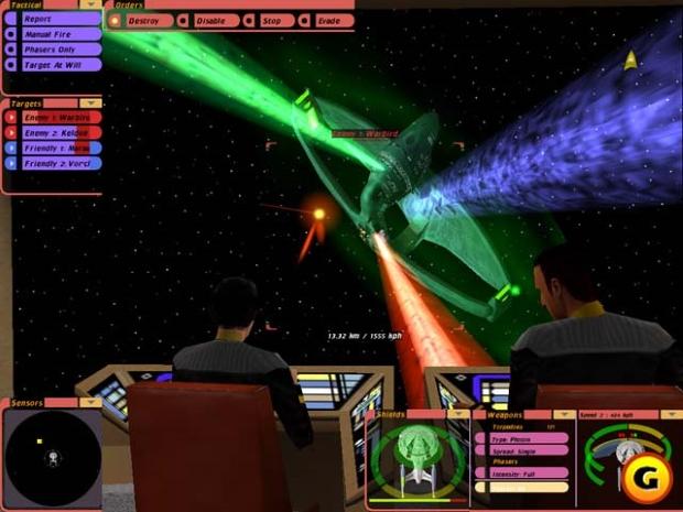 Star Trek Bridge Commander Video Game