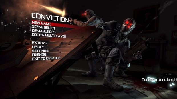 Tom Clancys Splinter Cell Conviction Full Version