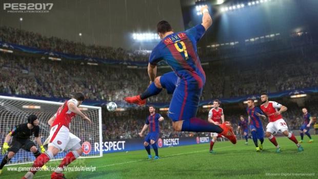 Pro Evolution Soccer 2017 Screenshots
